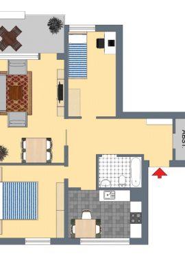 Typ B, 79 m²