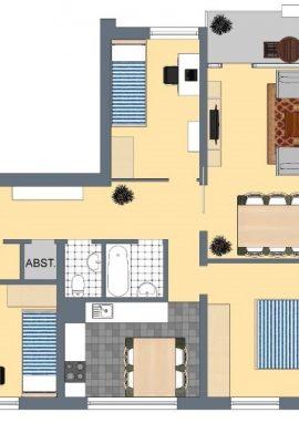 Typ D, 87 m²