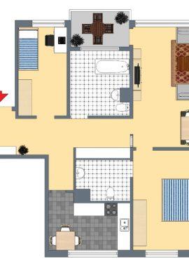Typ E, 92 m²