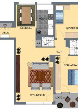 XnC_Typ F, 85 m²